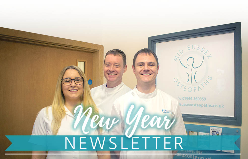 New year new rooms Mid Sussex Osteopaths header